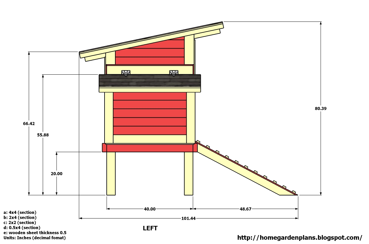 Plans for building chicken nesting boxes hen ternak for Free coop plans