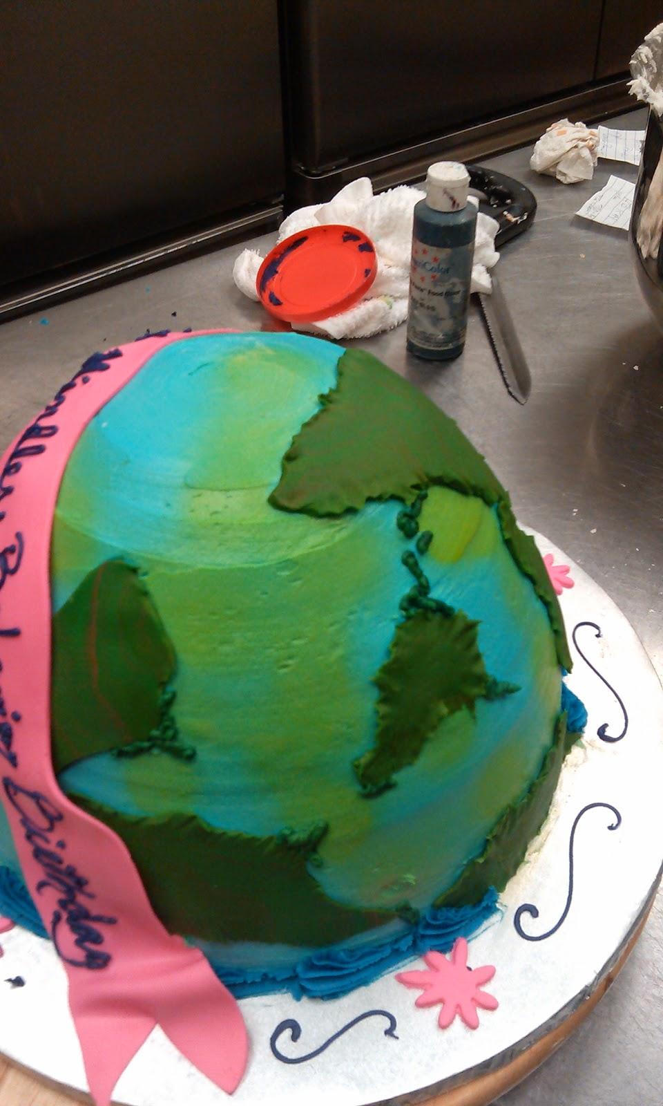 Cake Art Lawrenceville Hwy : CAFE AROMAS: Mindless Behavior World Tour Globe Cake