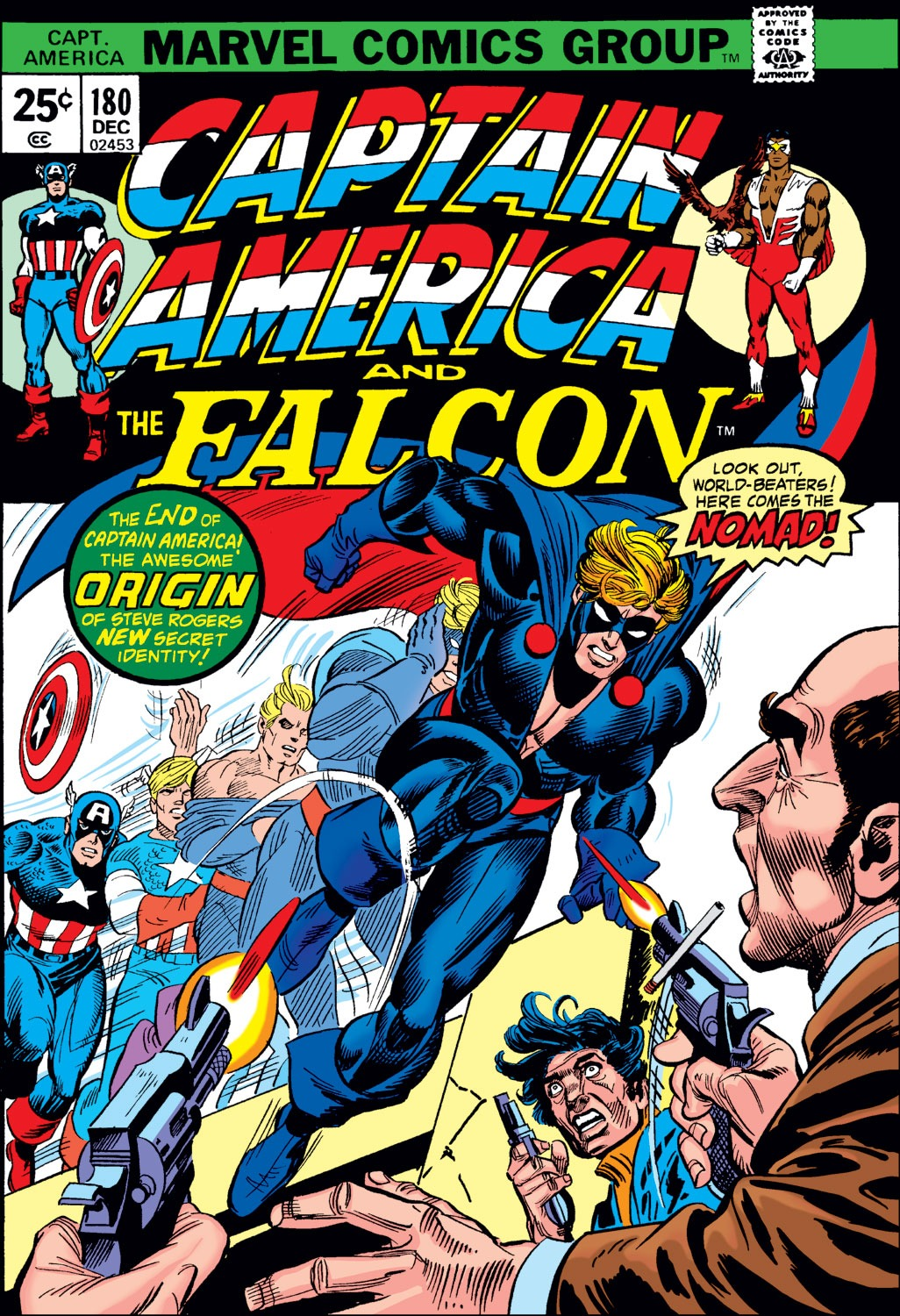 Captain America (1968) Issue #180 #94 - English 1