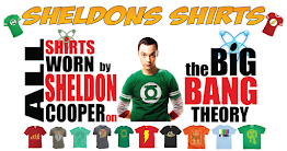 A Blog I Made Hawking Sheldon Cooper Shirts