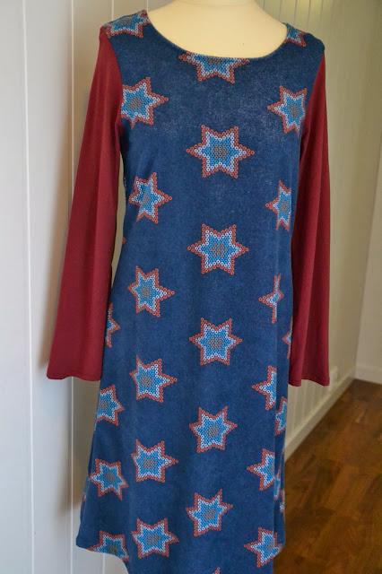 stjerne-kjole
