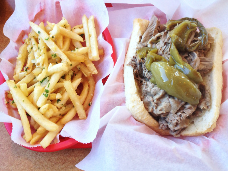 Ms. Lazybones & The Morning Man: chicago bucket list {italian beef}