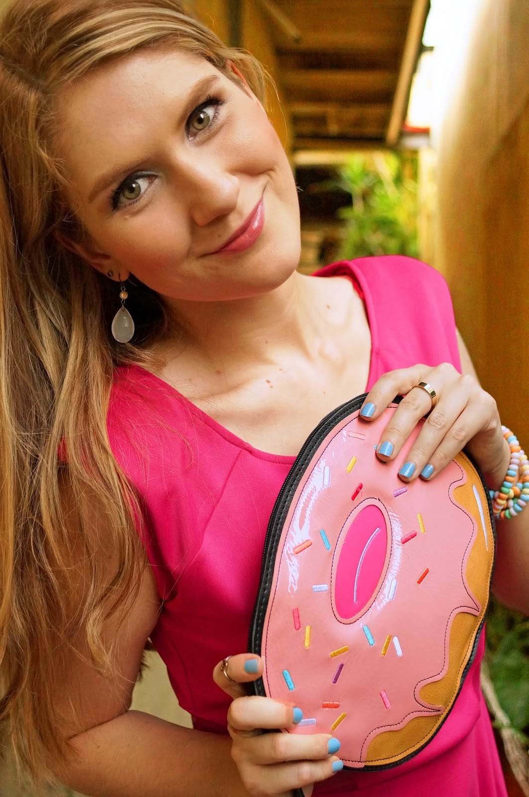 Seriously, how cute is this donut purse?! SO adorable!