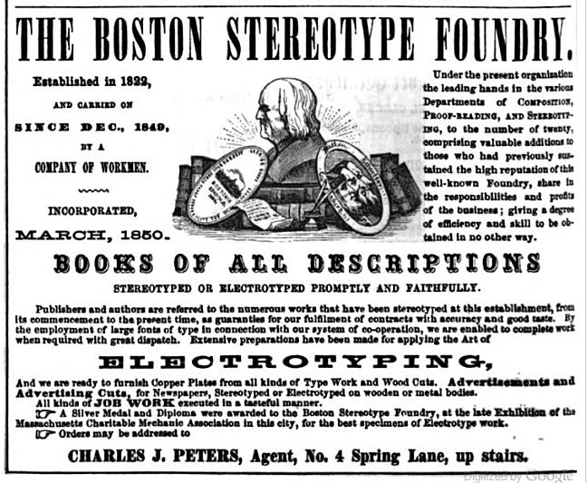 Interior Design Floorplans also 1861 Ad Boston Stereotype Foundry as well  on 1800s contracts