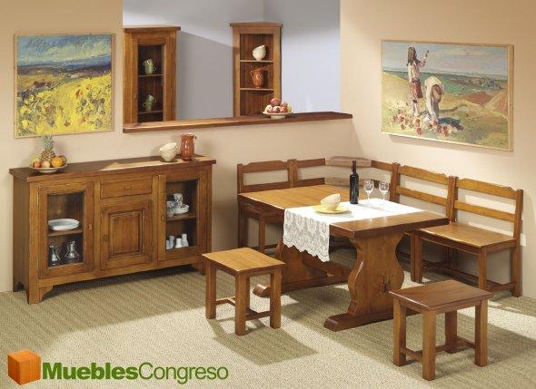 Kozma comedor for Muebles de comedor rusticos