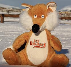 Pour notre Station des Rousses nous avons emmené la mascotte Rouxy avec nous autour du monde