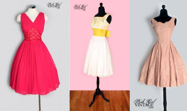 Certified Bridechilla: 1950\'s Entourage Dress
