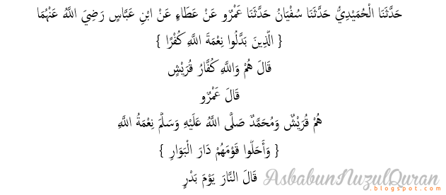 qur'an surat Ibrahim ayat 28