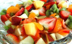 ensaladas de frutas para bajar de peso