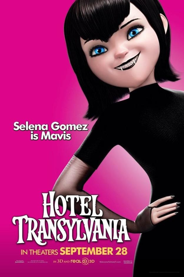 Mundo Fanmania: Selena Gomez 'Hotel Transylvania' poster