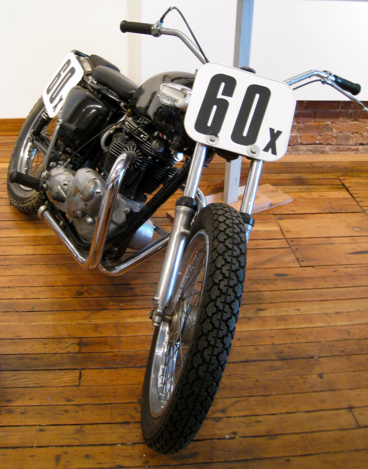 Flat track motorcycle pictures Vintage Flat Tracker