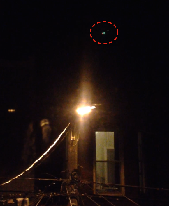 Glowing UFO Caught Above Saint John Canada, UFO Sightings