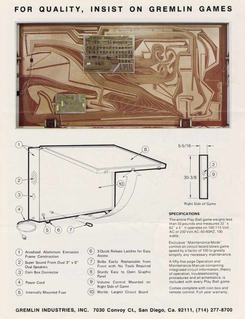 The Golden Age Arcade Historian September 2015 1979 Checkmate Wiring Diagram Including Oceanographic Instruments Fast Food Equipment They Made French Fry Timers Used By Jack In Box Integrated Circuit Testers