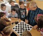 We play chess