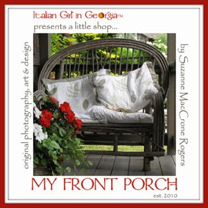 my front porch ~ delights