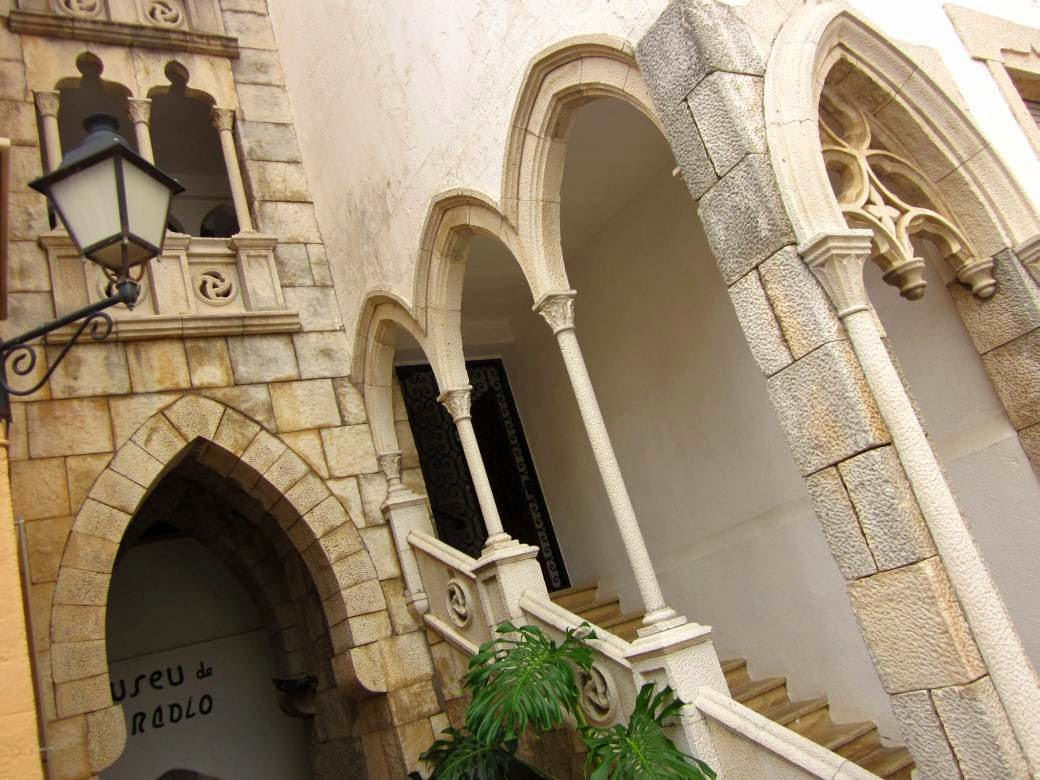 Gothic building in Roc de Sant Gaieta