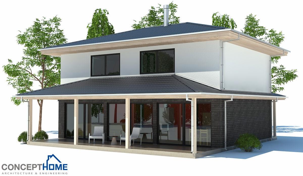 Plantas de casas modernas planta de casa moderna e for Casa moderna 2014 espositori