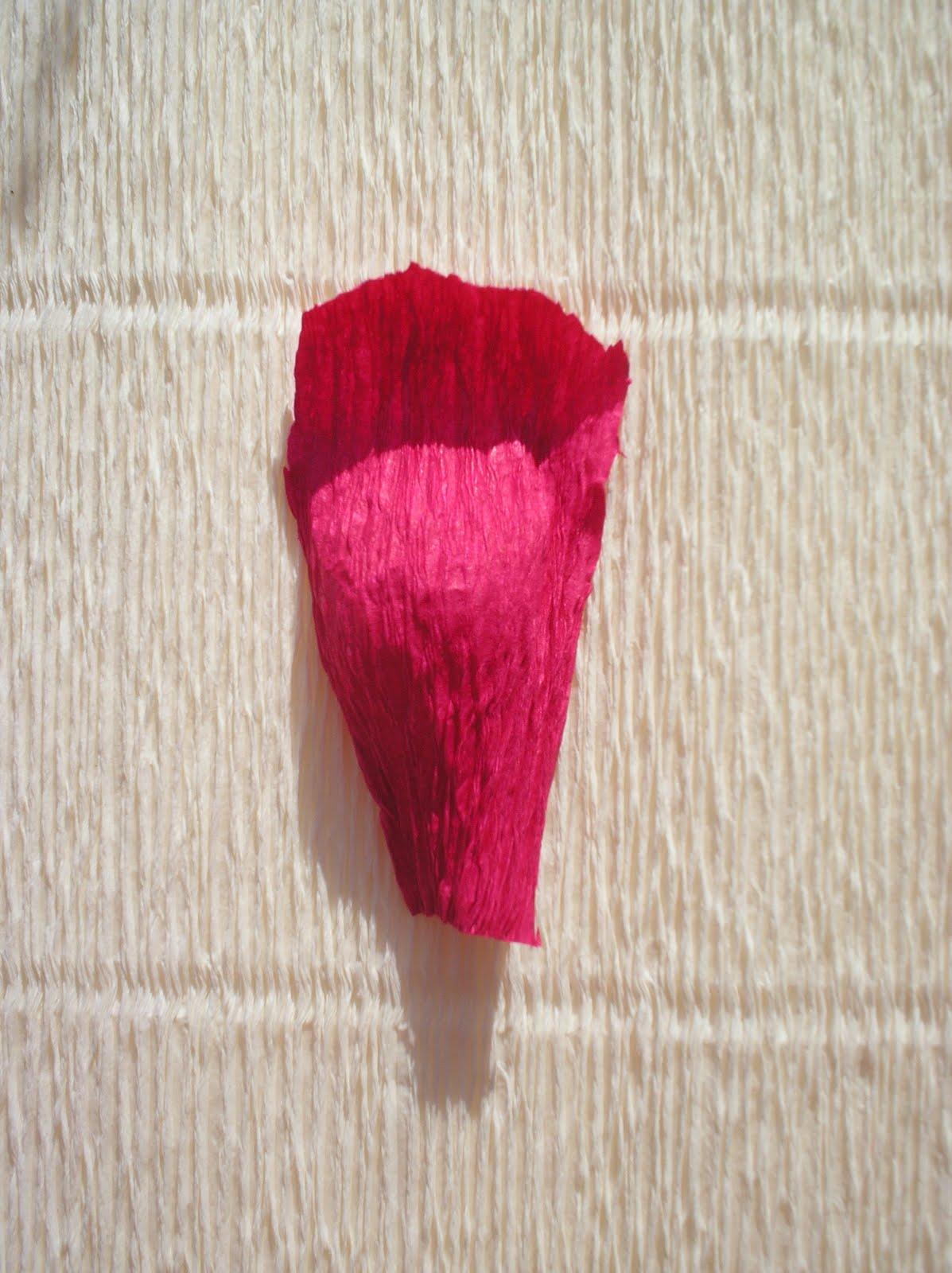 Розы из гофробумаги пошаговое фото