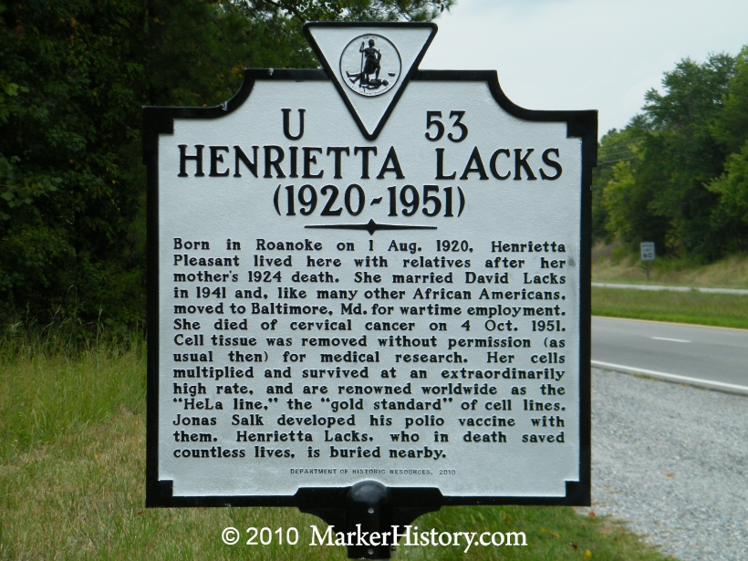 US Slave: Medical Ethics: HeLa Cells from Henrietta Lacks