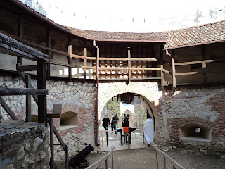 Rasnov Fortress (Brasov, Transylvania) - Tower entrance to the Fortress top