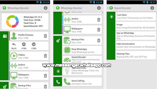Acelera el rendimiento y la velocidad con Booster for WhatsApp