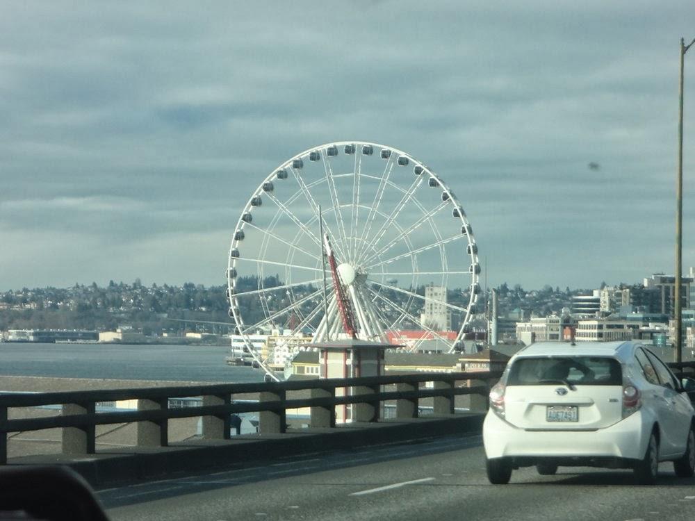 Ferris wheel in Seattle