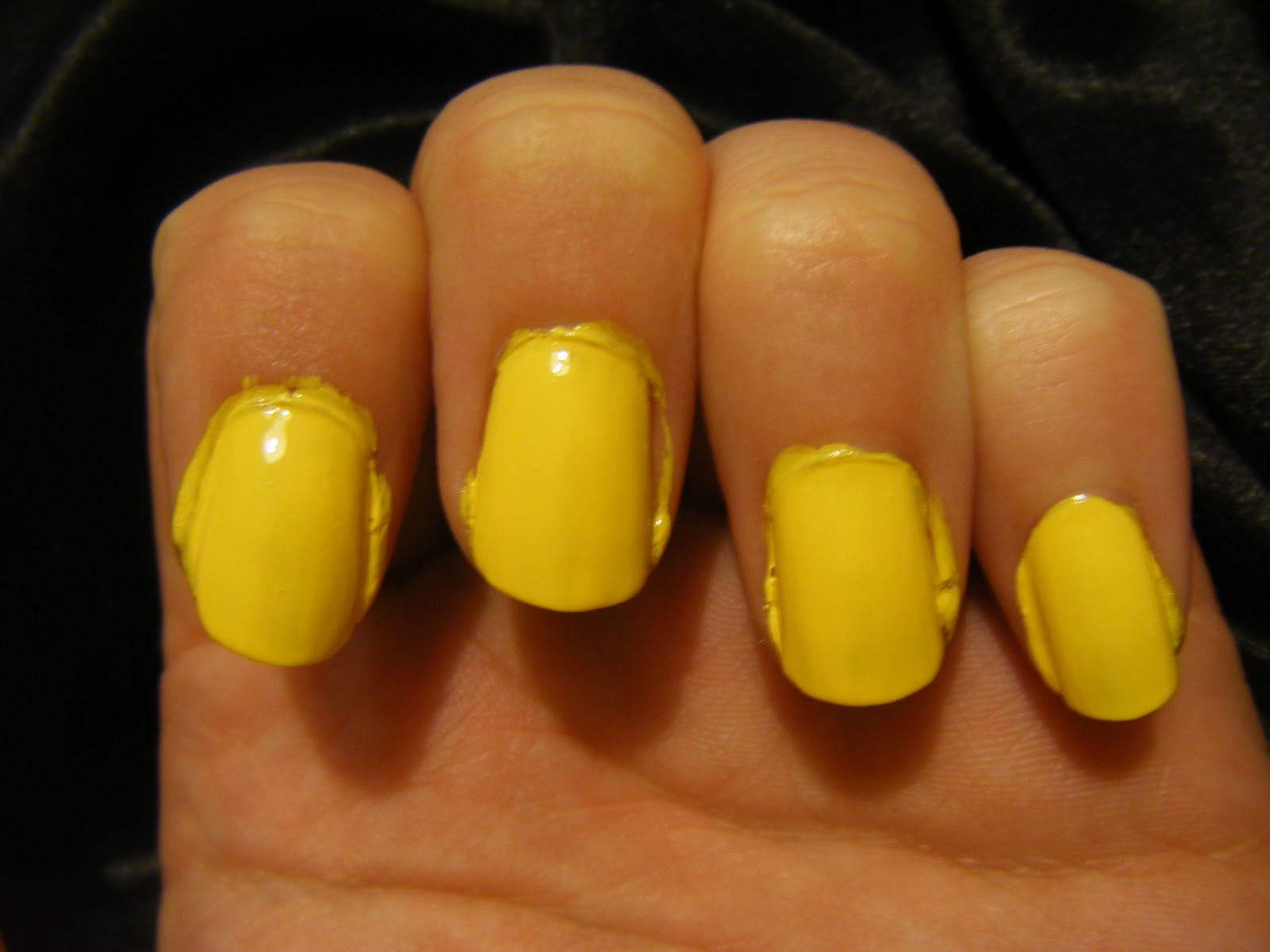 Starlight Radiance: Day 3: Yellow - Sally Hansen - Lightening and ...