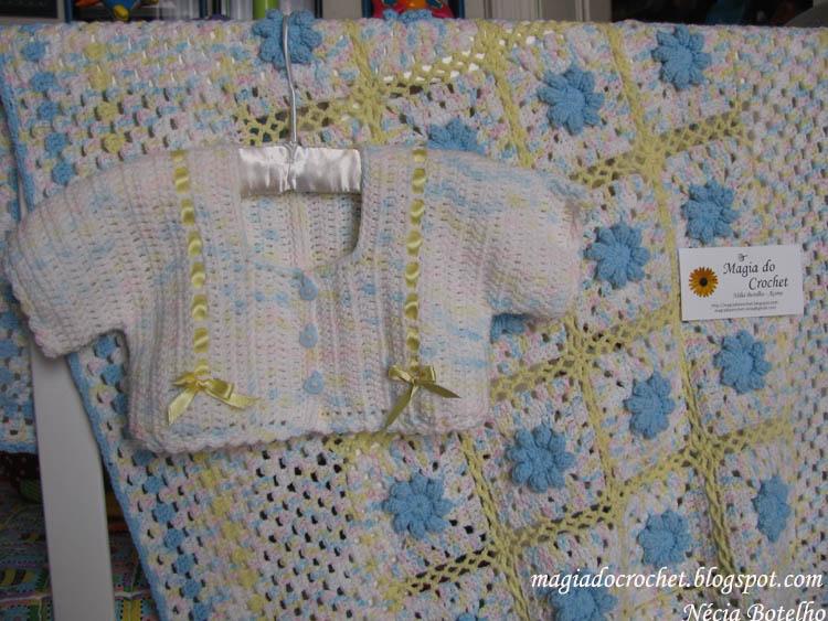 colcha+flor+azul 2013 Tığ işi bebek örgüleri
