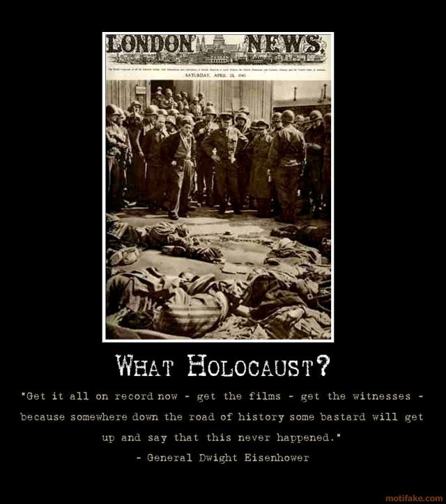 the denial of holocausts existence The intellectually barren wasteland of holocaust denial september 14 one way that apologists for holocaust denial attempt to minimize the holocaust is by attempting to make moral holocaust deniers use the existence of a swimming pool to argue against the mainstream historical.