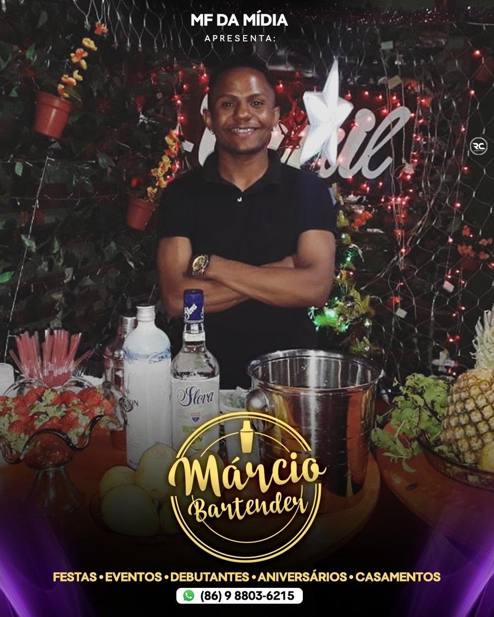 Márcio Bartender - Quer mostrar algo de diferente pra seus convidados na sua festa?