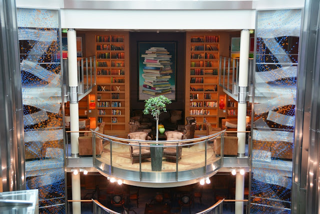 Celebrity Solstice library