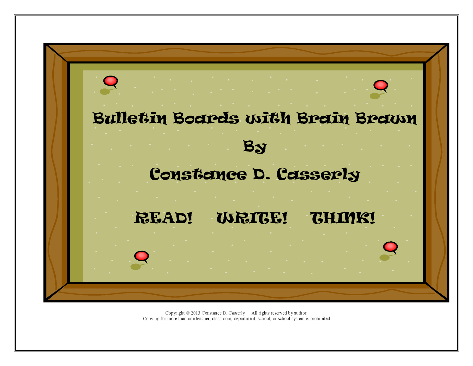 Bulletin Boards With Brain Brawn