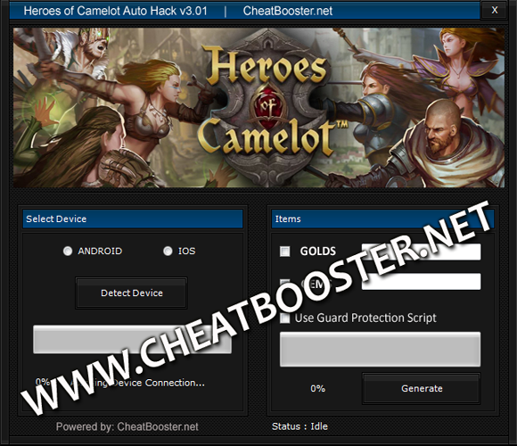Download Heroes of Camelot Hack
