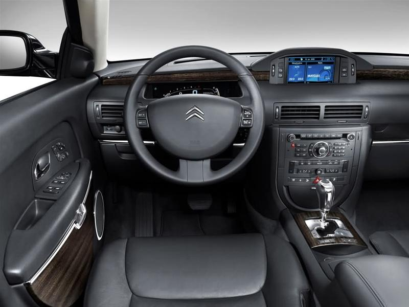 Luxury autos citroen c6 for Interieur 407
