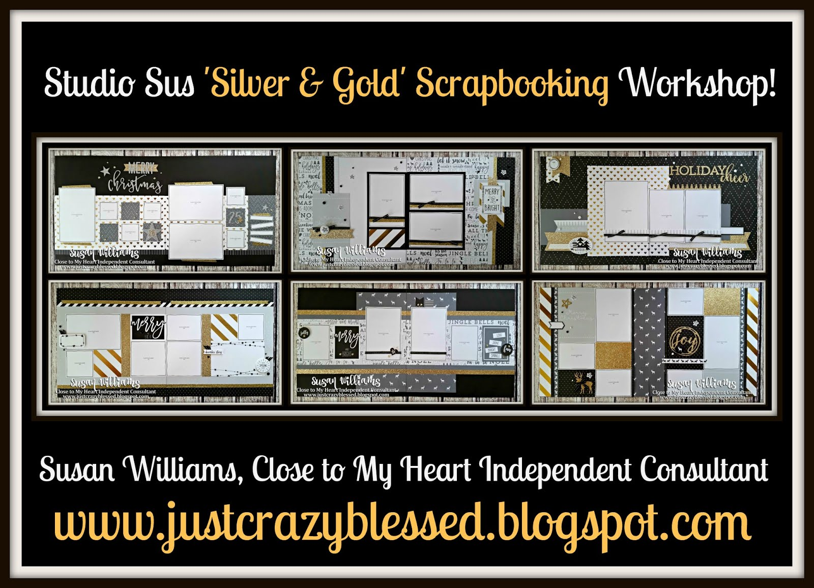 'Silver & Gold' Scrapbooking Workshop!