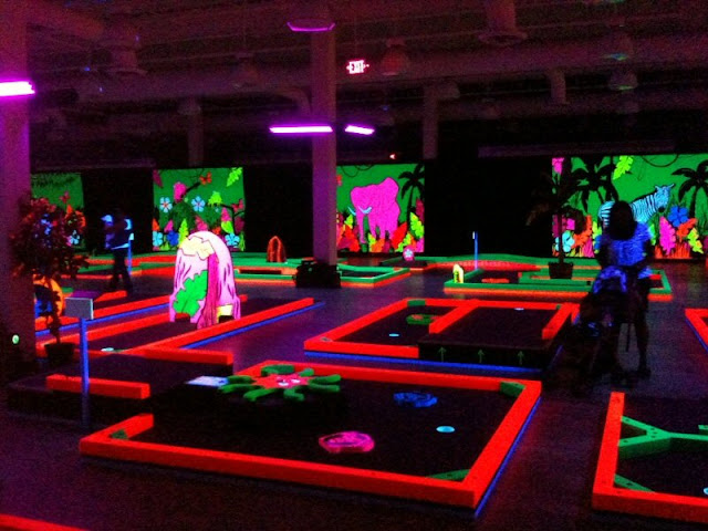 Black Light Golf