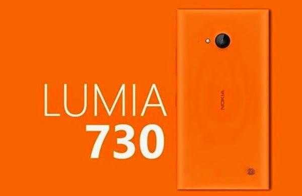 Selfie smartphone Nokia Lumia