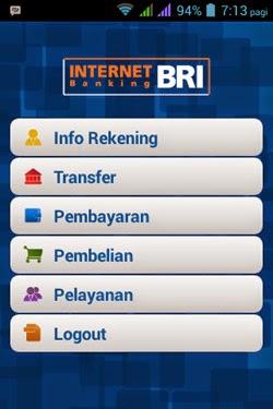 Aplikasi Untuk Transfer Saldo Rekening BRI