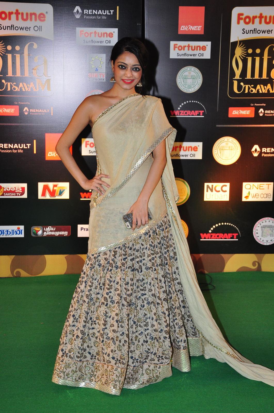 janani iyer glamorous in saree-HQ-Photo-1