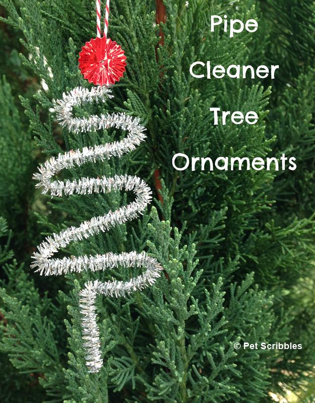 DIY Pipe Cleaner Trees