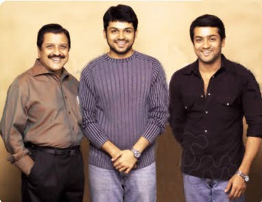 Suriya's brother and father