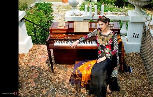 Pakistani luxury lawn collection 2015