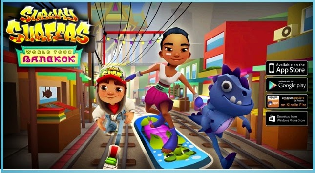 Subway Surfers Bangkok Hilesi