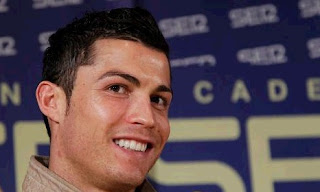 Cristiano during an interview in Cadena SER