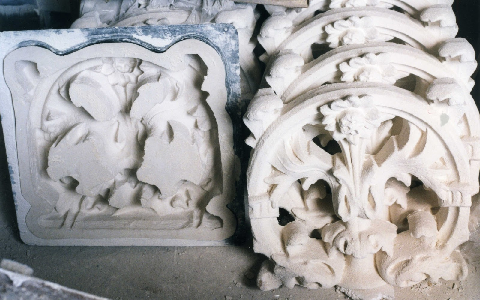 Moldes de silicona para balaustres - Balaustradas de piedra ...