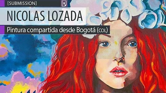 Pintura. Elisa de NICOLAS LOZADA aka Yosoynicky