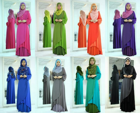 Ready To Post. Chiffon Cross Fishtail. Hurry Up Stock sangat LIMITED