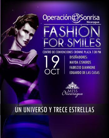 Fashion for Smiles: One Universe and 16 Stars