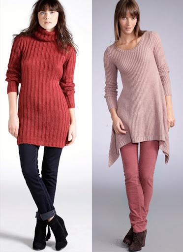 блузони, плетени туники и роклички