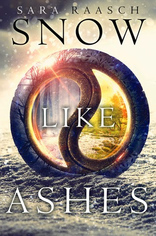 Snow Like Ashes Sara Raasch book cover